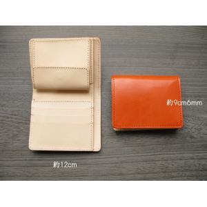 財布 2つ折り財布 メンズ 本物のこだわり最上級牛革財布二つ折り財布 ;K2S- 日本製|hushop|05
