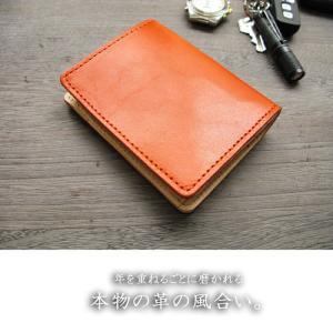 財布 2つ折り財布 メンズ 本物のこだわり最上級牛革財布二つ折り財布 ;K2S- 日本製|hushop|06