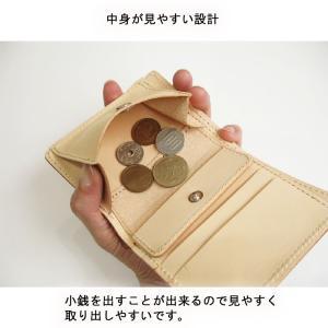 財布 2つ折り財布 メンズ 本物のこだわり最上級牛革財布二つ折り財布 ;K2S- 日本製|hushop|08
