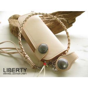 財布/メンズ/長財布/ 日本製 最高級レザーウォレット;LIBERTY:CM-2;革ひも 新品|hushop