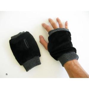 暖かフィンガーグローブ 指だし手袋 10色展開;P258-|hushop|04