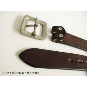 栃木レザー ベルト メンズ 安心の日本製 最強本牛革ベルト ショルダー 4色展開30〜52インチ SB-B SB-C 新品|hushop|09
