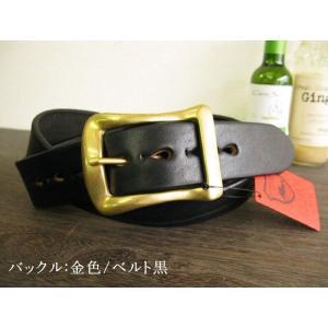 栃木レザーベルト 安心の日本製 最強本牛革ベルト 真鍮バックル ショルダー 4色展開30〜52インチ SB-BG SB-CG 本革|hushop|05