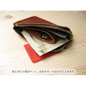 栃木レザー ショート財布 ショートウォレット コインケース財布  黒  キャメル 赤 紺 緑 日本製 本革 メンズ プレゼントにも最適|hushop|13
