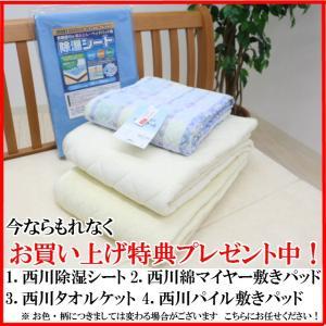 特典付き 幅95cm シングル 快眠健康敷ふとん キャップロール (ルネッタ)|hutonkan|09
