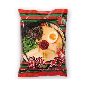 一蘭ラーメン 袋麺 ちぢれ麺 6食セット 3食パックx2 福岡店舗限定販売品
