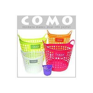 イノマタ化学 コモバスケットMサイズ 洗濯カゴ収納 バスケット|hyakuemonplus