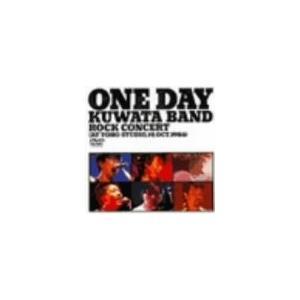 ONE DAY KUWATA BAND〜ROCK CONCERT(AT TOHO STUDIO19th Oct.1986)  [DVD]|hyakushop