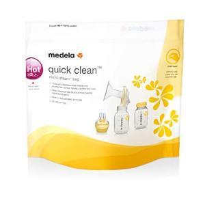 メデラ(medela) 電子レンジ除菌バッグ(5パック) クイッククリーン スチームバッグ|hyakushop
