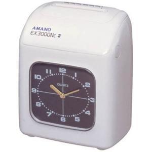 アマノ 時刻記録 タイムレコーダー EX3000NC-W hyakushop