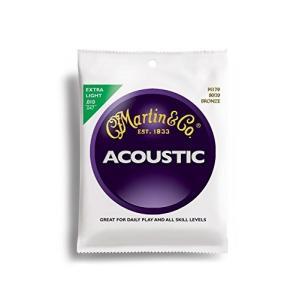 Martin アコースティックギター弦 ACOUSTIC?(80/20 Bronze) M-170 Extra Light .010-.047|hyakushop