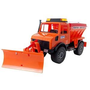 ブルーダー MB Unimog除雪車 BR02572|hyakushop