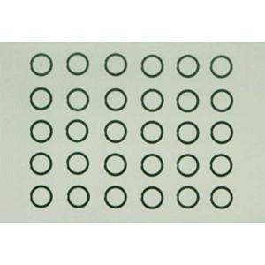 タミヤ HOP-UP OPTIONS OP-726 φ6mmシムセット (3種/各10枚)|hyakushop