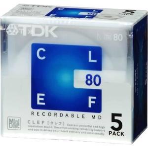 TDK MD CLEF 80分5枚パック MD-CL80X5N hyakushop