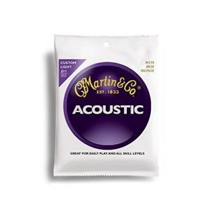 Martin アコースティックギター弦 ACOUSTIC?(80/20 Bronze) M-175 ...