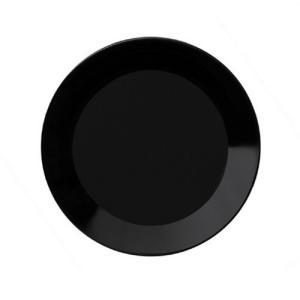 【正規輸入品】iittala (イッタラ) Teema (ティーマ) プレート ブラック 17cm|hyakushop