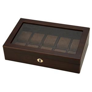 茶谷産業 木製ウォッチケース 10本用 856-121|hyakushop