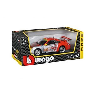 Burago 1/24 Scale 18-28002 - Porsche 911 GT3 RSR Flying LIzard|hyakushop