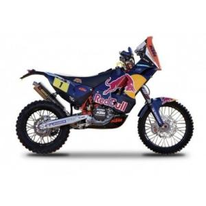 [Bburago]Bburago KTM 450 Rally DakarRed Bull Motorcycle 1/18 by 51071 [並行輸入|hyakushop