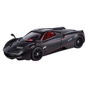 Motormax 1/24 Scale 79502 - Pagani Huayra - Satin Paint Black|hyakushop