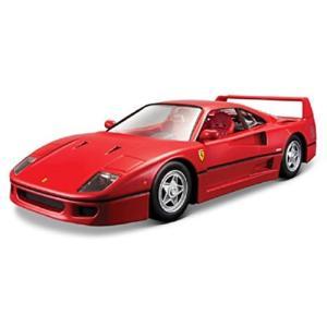 ブラゴ Bburago 1/24 フェラーリ Ferrari F40 レッド レース スポーツカー ダイキャストカー Diecast Model ミニ|hyakushop