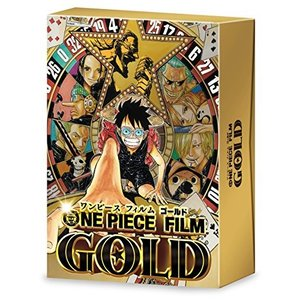 ONE PIECE FILM GOLD DVD GOLDEN LIMITED EDITION|hyakushop