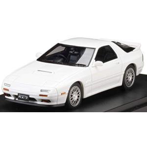 MARK43 1/43 マツダ RX-7 (FC3S) GT-X クリスタルホワイト 完成品|hyakushop