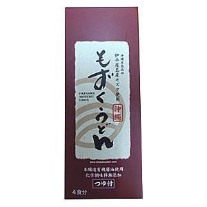 もずくうどん(4食分) つゆ付|hyakusouen