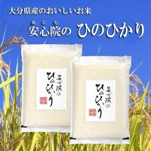 安心院のおいしいお米 ひのひかり  4kg 2kg×2 hyakusyouwaraku