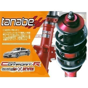 tanabe タナベ CR (コンフォートR) 車高調 スイフトスポーツ ZC32S (FF NA 11/12〜) (CRZC32SK)|hybs22011