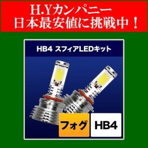 スフィアライト(SPHERELIGHT)  フォグ用スフィアLED HB4 コンバージョンキット  6000K  SHKPG060-S hycompany