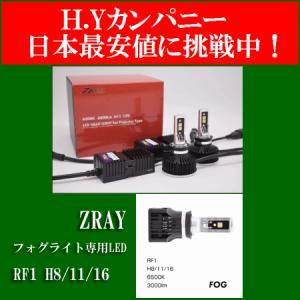 ZRAY RF1  フォグライト専用LEDバルブ  H8/H11/H16 6500K 日本製 3年保証 hycompany