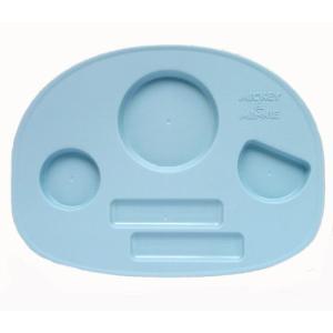 ミッキーマウス ベビー食器セット 出産祝い お食事セット 離乳食 女の子 男の子 ポリプロピレン スモークトーン|hydiya|05