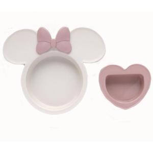 ミッキーマウス ベビー食器セット 出産祝い お食事セット 離乳食 女の子 男の子 ポリプロピレン スモークトーン|hydiya|06