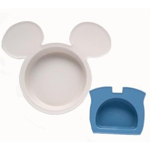 ミッキーマウス ベビー食器セット 出産祝い お食事セット 離乳食 女の子 男の子 ポリプロピレン スモークトーン|hydiya|08