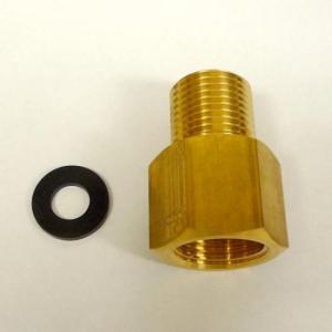 【水耕栽培】CO2レギュレーター用ボンベ変換アダプター CGA-320 (7/8-14UNF X20) オス / W22-14メス|hydroponics