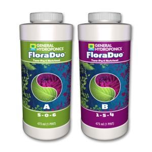 【水耕栽培】フローラ・デュオ FloraDuo 473mlセット|hydroponics