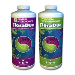 【水耕栽培】フローラ・デュオ FloraDuo 946mlセット|hydroponics