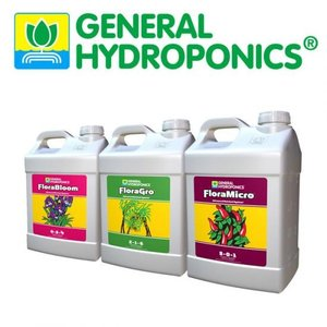 【水耕栽培】GHフローラシリーズ9.46Lセット|hydroponics