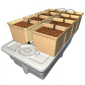 【水耕栽培】EuroGrower 8 Pots Complete(ユーログロワー8ポットコンプリート)|hydroponics
