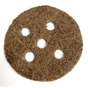 【水耕栽培】ココテック・キャップ(CocoTek Caps)3インチ 5個セット GH製|hydroponics