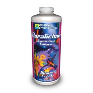 【水耕栽培】フローラリシャス・ブルーム Floralicious Bloom 946ml|hydroponics