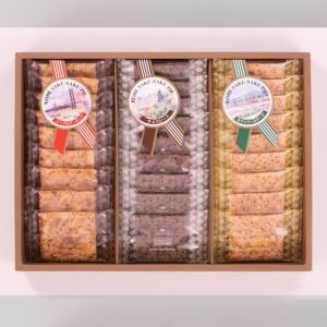 「神戸浪漫」神戸サクサクパイ 30枚(KS-15N メープルアーモンド チョコレート カマンベールチーズ)|hyogo-tokusanhin
