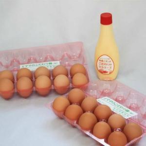 「タズミ商事」ママのこだわり卵 Mサイズ20個とマヨネーズセット