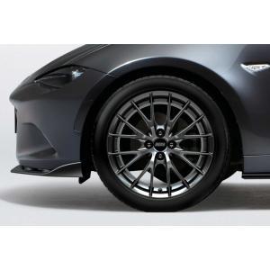 BBS社製鍛造アルミホイール(17X7.0J)ブラックメタリック塗装/マツダ純正オプション/ND5RC/ロードスター/9965-98-7070 hyogoparts