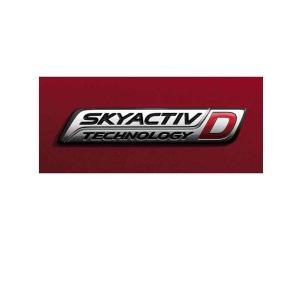 【SKYACTIV-D】オーナメント/マツダ純正/GJ型アテンザ用/G46E51771|hyogoparts