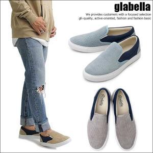 aa70fc3aeec45 glabella グラベラ スニーカー スリッポン デニム コーデュロイ シューズ 靴 メンズ glbt-137 SD5651516 【AM】  180427