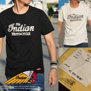 Indian Motocycle インディアンモトサイクル Tシャツ メンズ 半袖 刺繍 Vintage IC-2400■02170827【y1105s】|hype