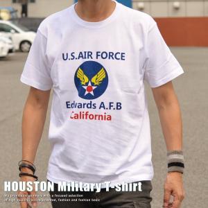 正規 HOUSTON ヒューストン Military U.S.AIR FORCE Tシャツ メンズ 211H64【UNI】■02170810|hype