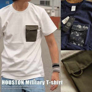 正規 HOUSTON ヒューストン 厚手 ポケット Tシャツ メンズ 211H81【UNI】■02170810|hype